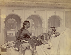 Nautch girls, Hyderabad